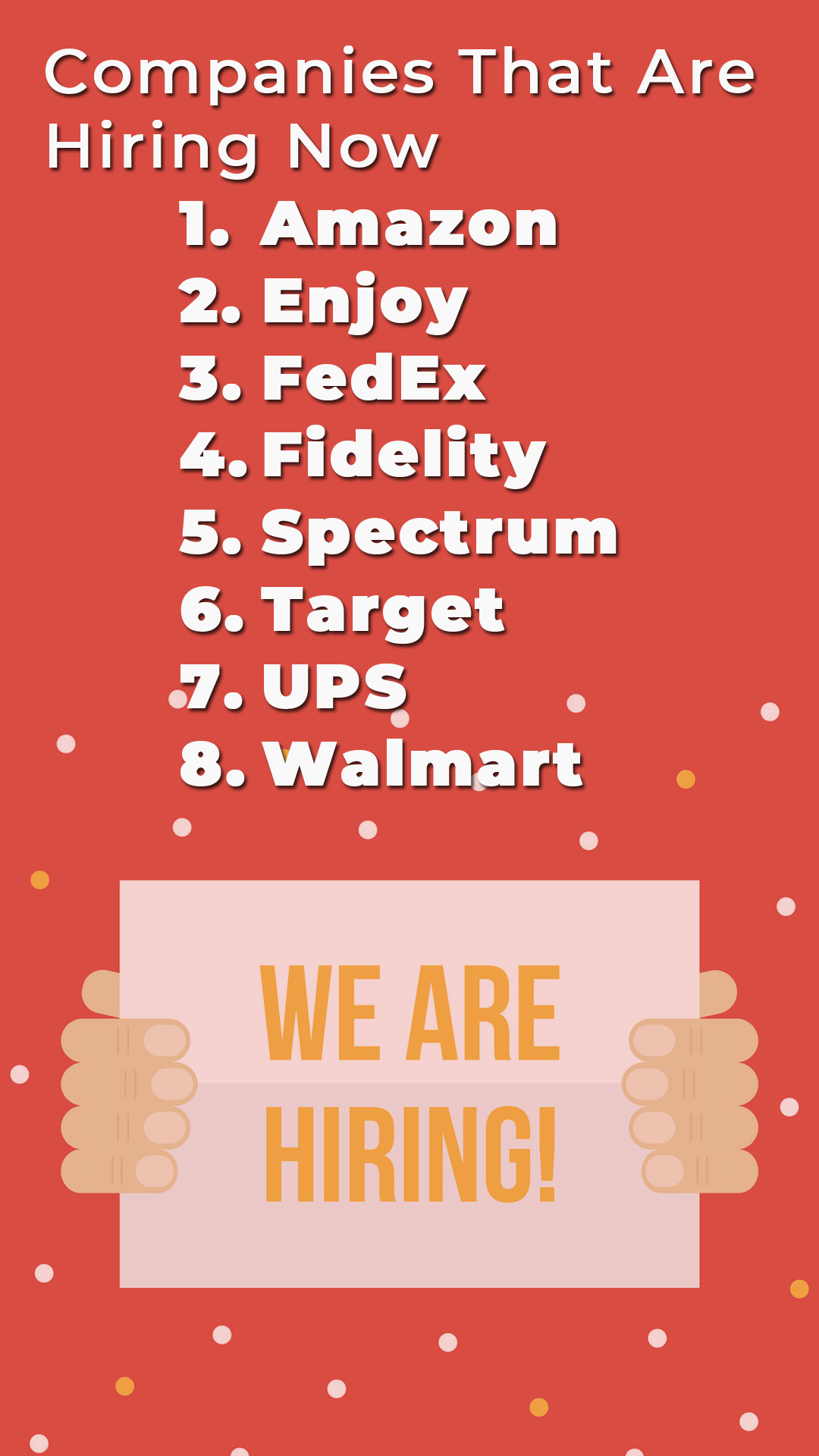 Companies That Are Hiring Now