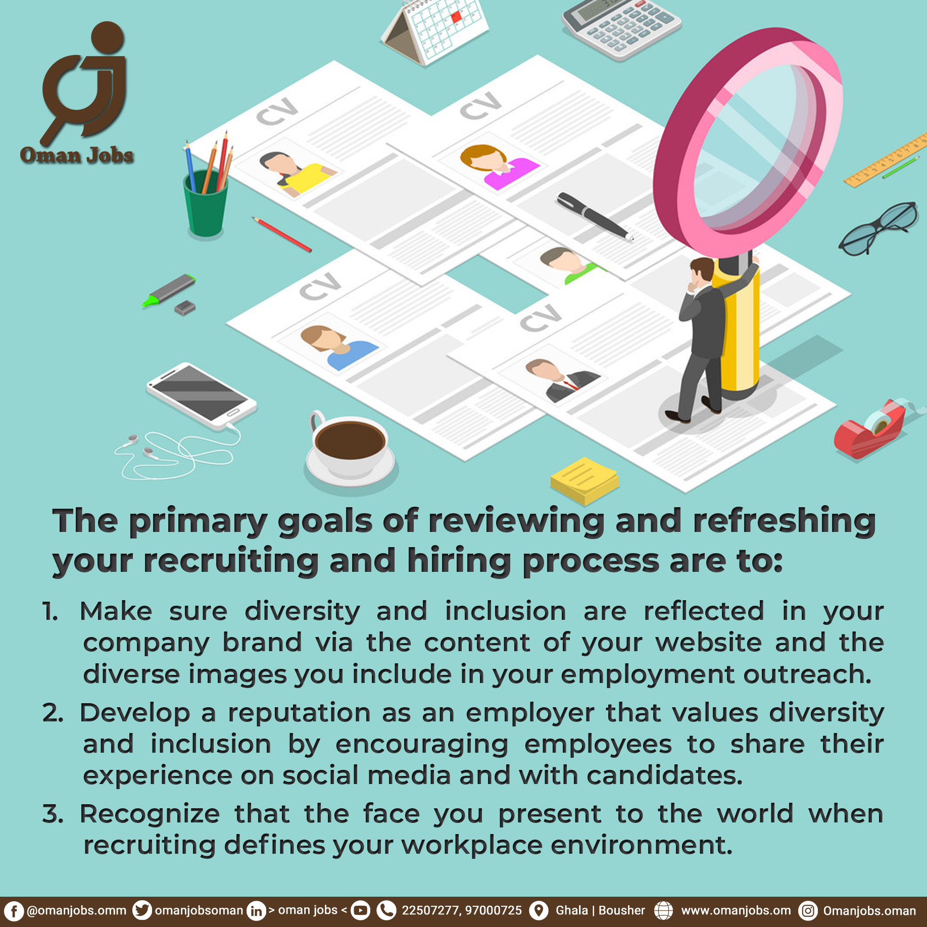 REVIEWING YOUR RECRUITING AND HIRING PROCESS